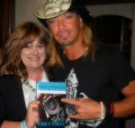 Bret Michaels autographed Out of Focus 9/2012
