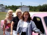 PInk Cadillac with Barbara Vey and Margie Lawson. 2006